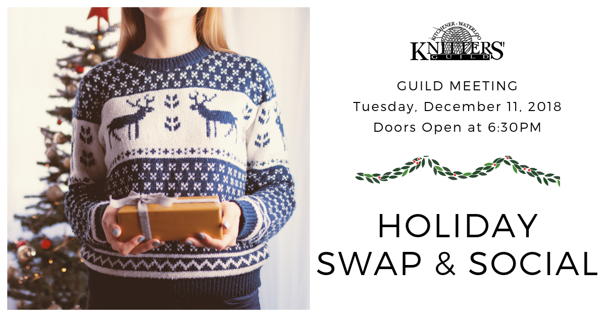 December 2018 - Holiday Swap & Social